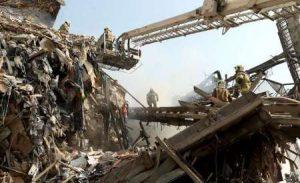 سانحه آتش سوزی و فروریزی ساختمان پلاسکو تهران