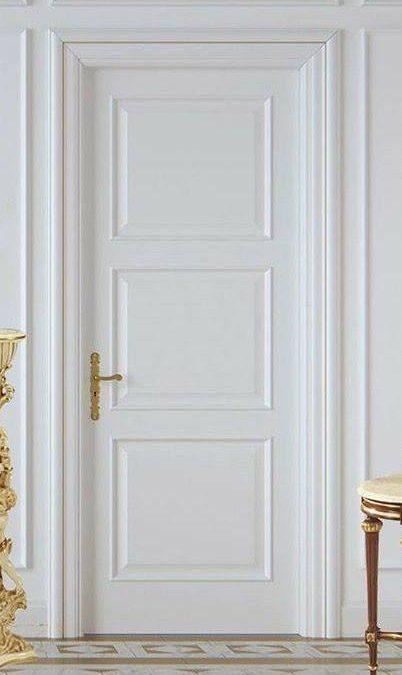 درب های اتاق خواب طرح کلاسیک کتیبه دار