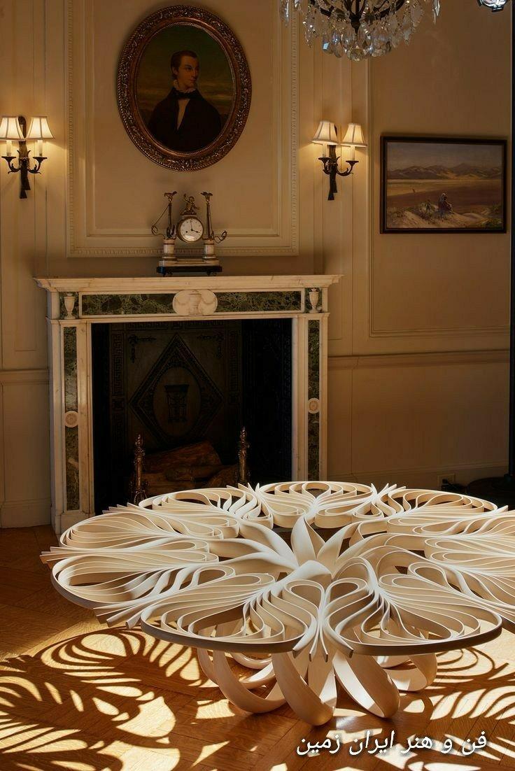 خم چوب در دکوراسیون چوبی منزل، هنر های چوبی