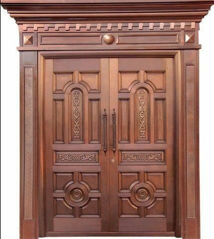ساخت درب چوبی ورودی