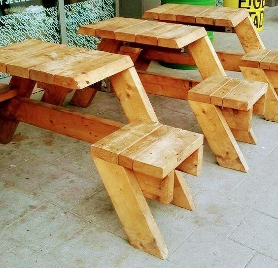 ایده ساخت نیمکت از چوب خالص کاج روسی