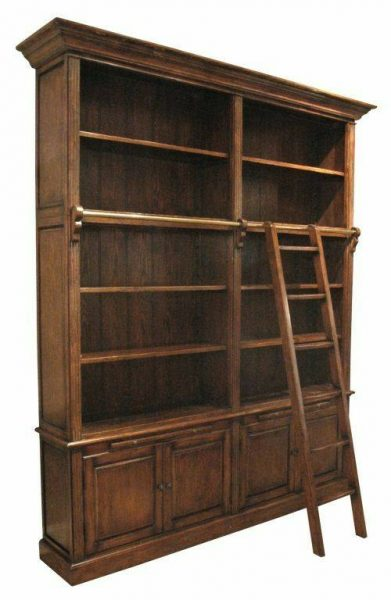 کتابخانه چوبی و ویترین چوبی سبک کلاسیک , کتابخانه چوبی , قفسه چوبی , دکور و بوفه ویترین