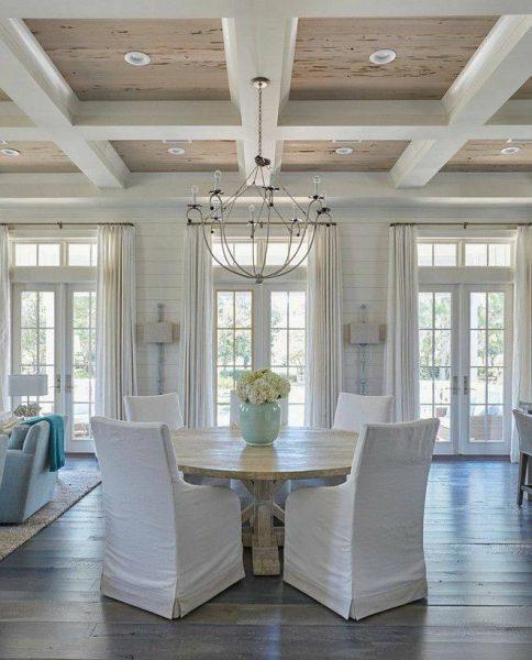 طراحی و ساخت انواع سقف چوبی , ایده و مدل باکس های چوبی سقف لمبه کوبی شده