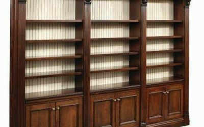ایده و مدل کتابخانه چوبی کلاسیک و قفسه بندی چوبی سبک کلاسیک 2019