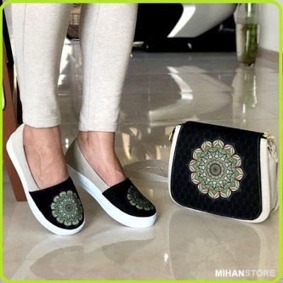 کیف و کفش سنتی زنانه ، کیف ترنج ، کفش شمسه
