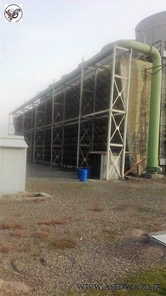 تعمیر و نگهداری سازه های چوبی نیروگاه حرارتی بعثت