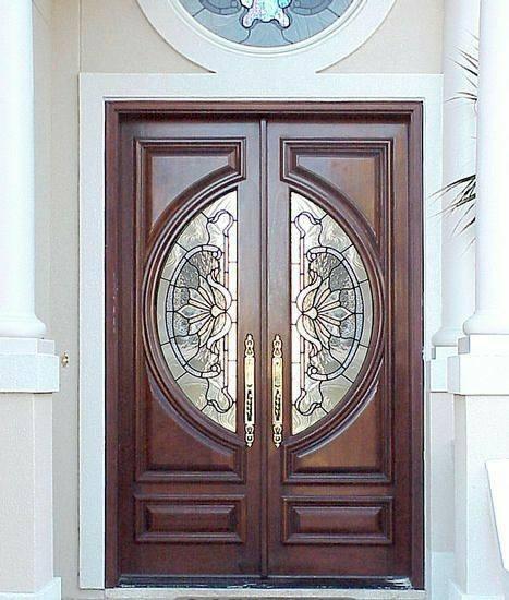 انواع سبک و مدل درب چوبی در دکوراسیون چوبی ساختمان, درب های چوبی مدرن و کلاسیک چوبی
