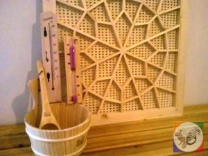 دکوراسیون سنتی ، حصیر بافی ، گرهچینی در طراحی سونا