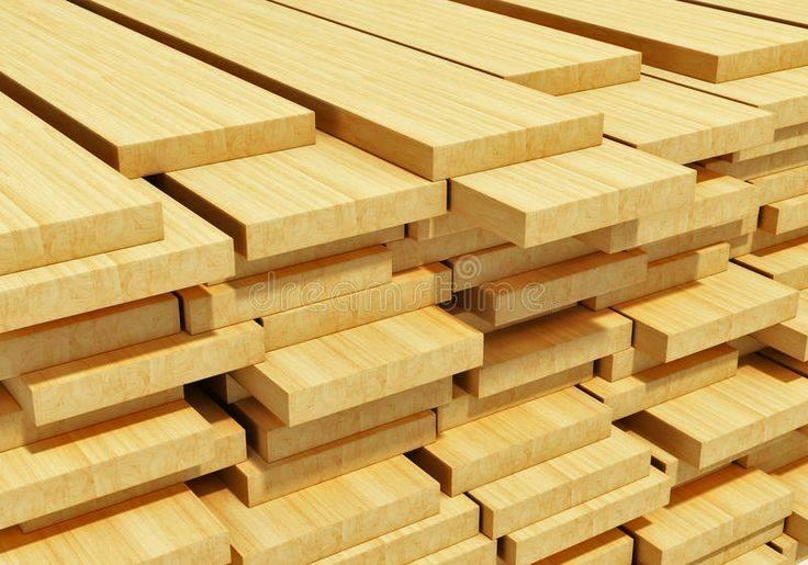 انواع تخته چوب، چوب کاج روسی، برش و چوب بری