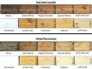 رنگ چوب کاج روسی، رنگ کاری چوب، رنگ چوب روس