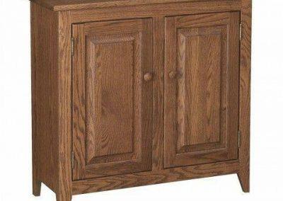 کمد چوبی , میز کنسول دو درب چوب بلوط امریکایی