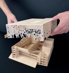 سقف کاذب سازه های چوبی