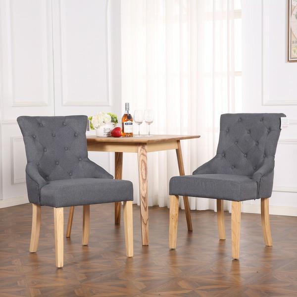 صندلی چوب و پارچه