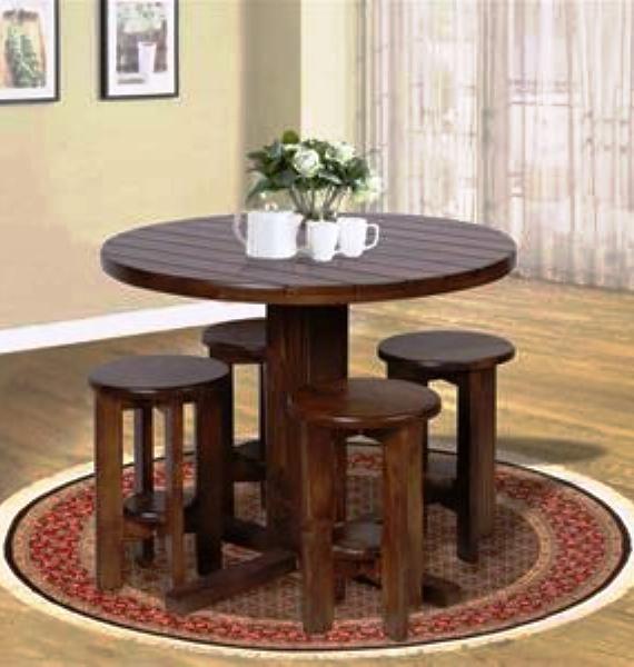 میز و صندلی سنتی چوب روسی
