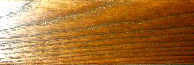 سطح چوب اش اروپایی در فرایند ترمو شدن