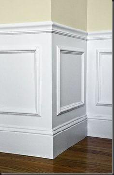 ازاره یا روکش حفاظتی دیوار سبک کلاسیک