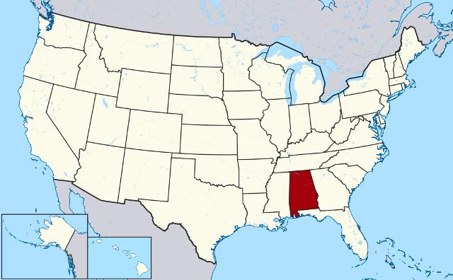 درباره ایالت آلاباما