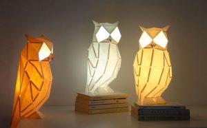 لامپ های اوریگامی