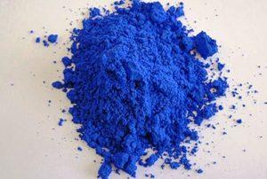 کشف رنگدانه آبی