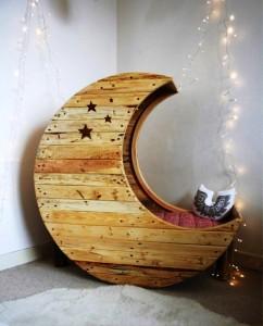 یک سازه چوبی زیبا ، ایده ای برای ساخت دکوراسیون داخلی اتاق کودک فوق العاده شیک و کاربردی