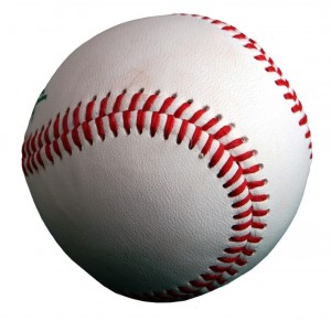 Baseball is a bat-and-ball game played between two teams of nine players each who take turns batting and fielding.