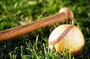 درباره بیسبال ، توپ و چوب بیسبال Baseball is a bat-and-ball game played between two teams of nine players each who take turns batting and fielding.