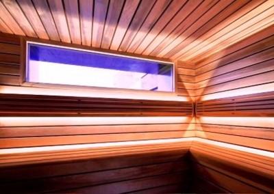 سونای خشک با طراحی بسیار زیبا . دکوراسیون سونای خشک سونا ارگونومیک