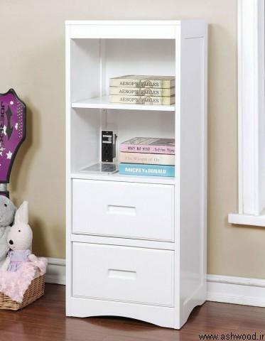 کتابخانه چوبی  انواع کتابخانه و قفسه کتاب چوبی، ایستاده، دیواری و مدرن