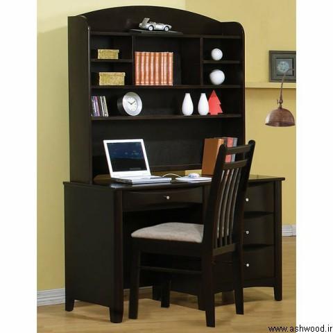 مدل و ایده کتابخانه چوبی  انواع کتابخانه و قفسه کتاب چوبی، ایستاده، دیواری و مدرن