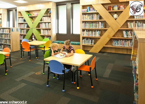 استاندارد کتابخانه , ابعاد و استاندارد های کتابخانه و میز تحریر