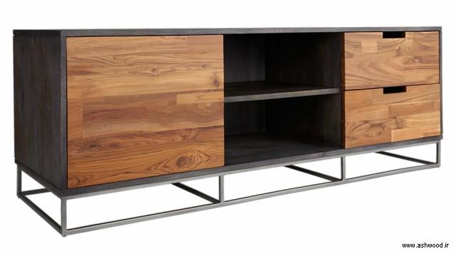 مدل میز کنسول چوبی