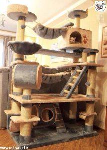 ایده خانه ای برای سگ و گربه خانگی