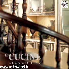 دکوراسیون لوکس و انتیک چوبی ، این کابینت با نام تنومند بد قواره معروف شده