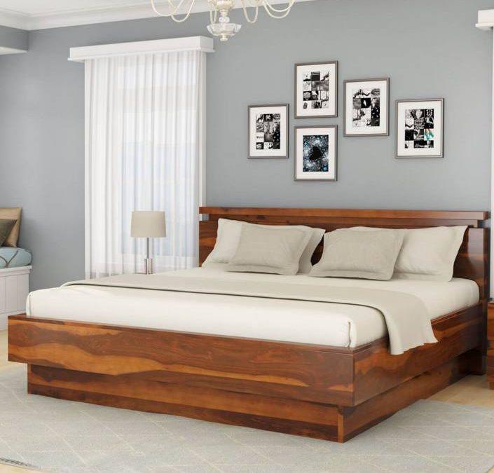مدل و ایده تخت خواب و دراور چوب طبیعی , سرویس خواب چوبی 2019