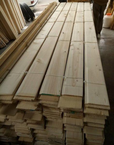 لمبه چوب کاج روسی , نصب لمبه چوبی , قیمت لمبه چوب