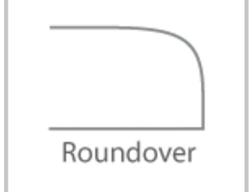 ابزار لبه میز، مدل ها مختلف نقوش در لبه ها و گوشه های دکوراسیون