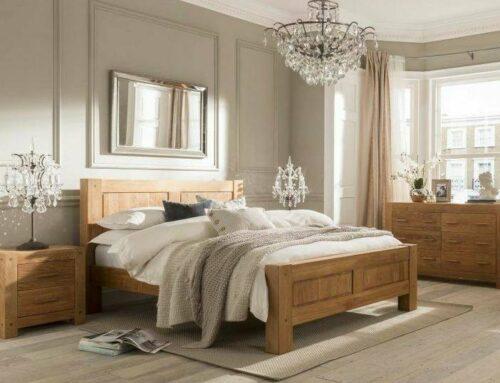 ساخت سفارشی سرویس تخت خواب چوب بلوط