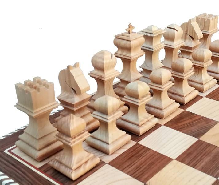 مهره شطرنج چوب گردو