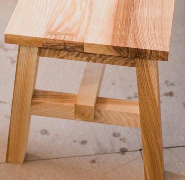 میز و نیمکت چوب اش , دکوراسیون چوب ون