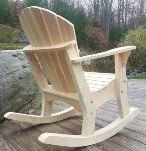 صندلی چوبی آرامش بخش چوب کاج، ایده های جالب صندلی چوبی