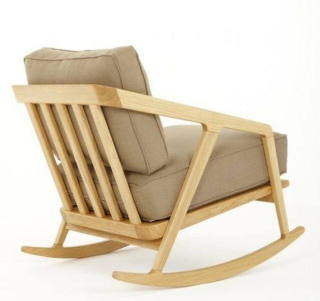 صندلی راک، صندلی چوبی
