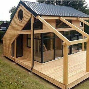 مدل و ایده کلبه چوبی