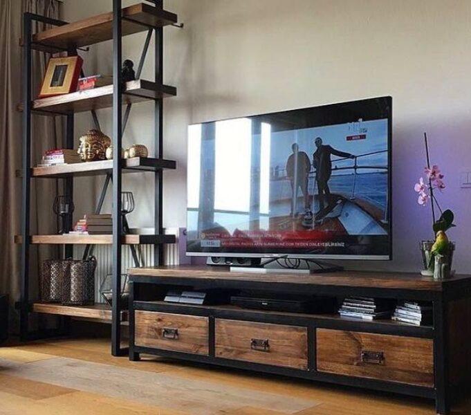 میز تلویزیون , دکوراسیون دیوار tv , ایده و مدل و فروش میز تلویزیون چوبی 2020