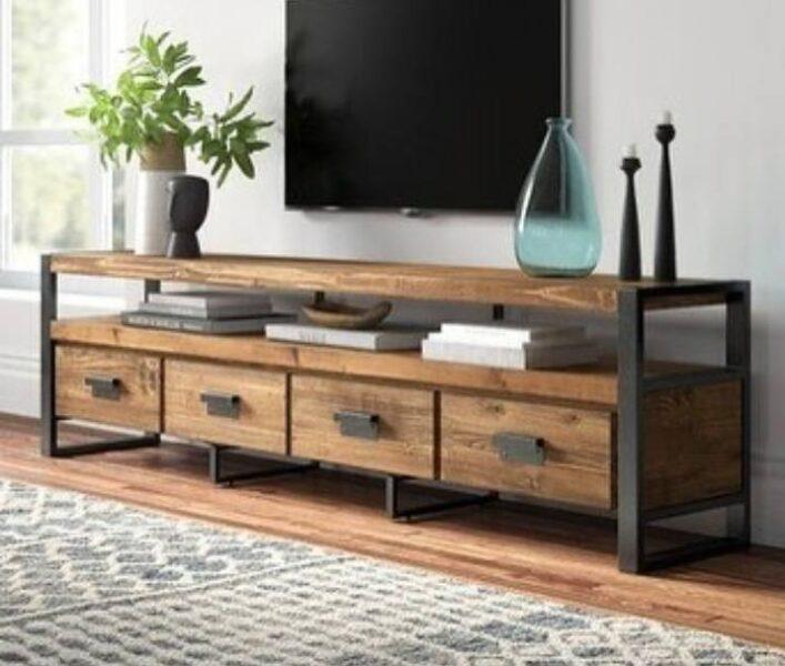 میز تلویزیون , دکوراسیون دیوار tv , ایده و مدل و فروش میز تلویزیون چوبی