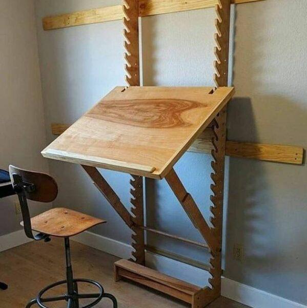 میز تحریر جالب , میز طراحی با قابلیت تنظیم