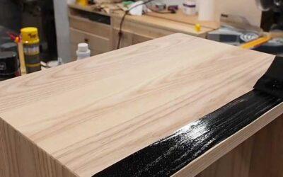 رنگ آمیزی چوب بلوط با رنگ های پوششی ولی موج نما