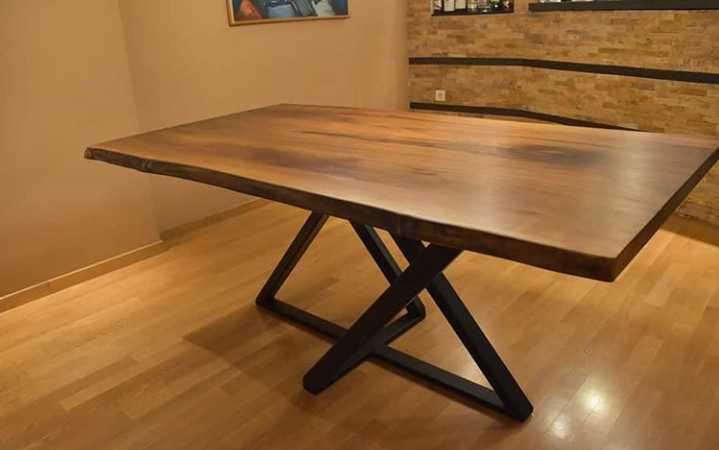میز ناهارخوری چوبی جالب