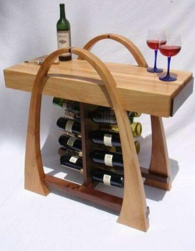 میز بار چوبی