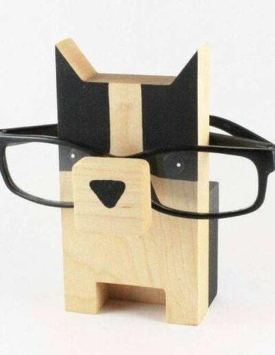 جای عینک چوبی