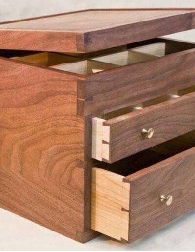 باکس چوبی کشو دار